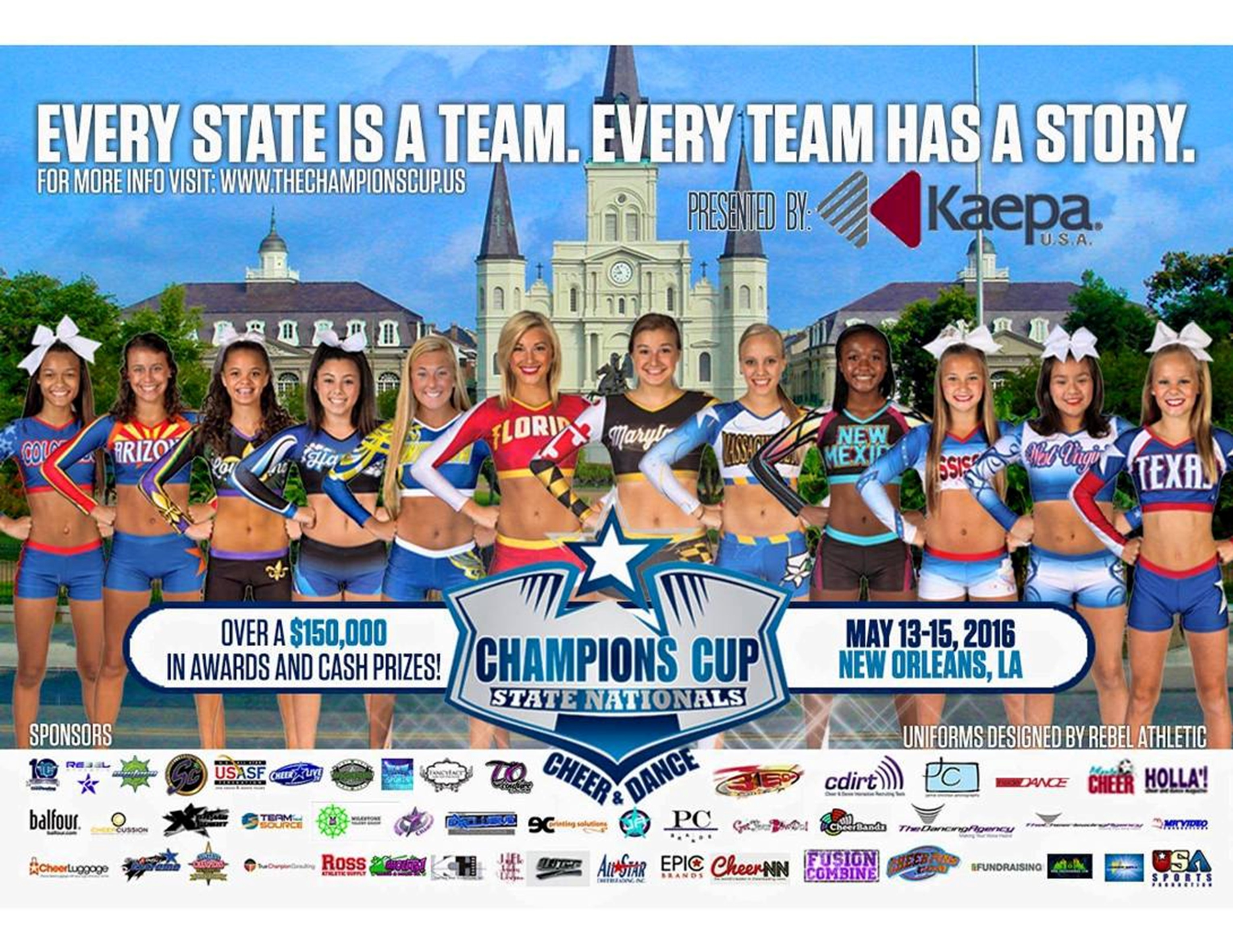 Copy of Copy of The Champions Cup Postcard Flyer 2016