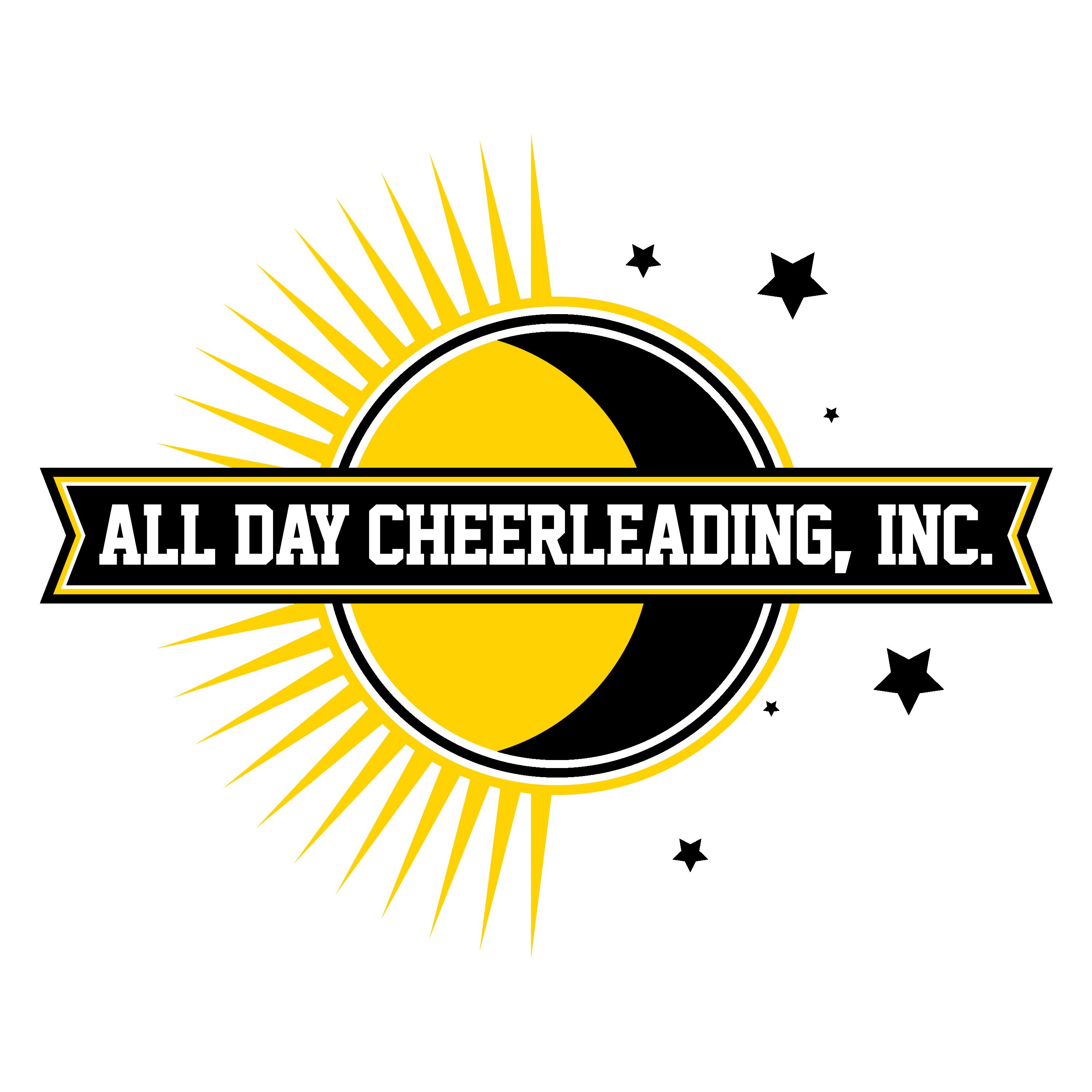 All Day Cheerleading Logo Color